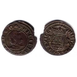 Felipe VI. 1664. 16 Maravedi (EBC) Ceca de Madrid S