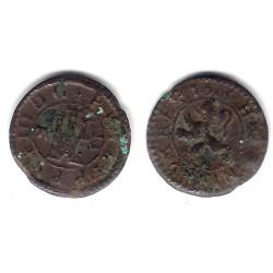 Felipe III. 1605. 2 Maravedi (BC) Ceca de Segovia