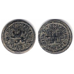 Felipe III. 1602. 2 Maravedi (MBC+) Ceca de Segovia