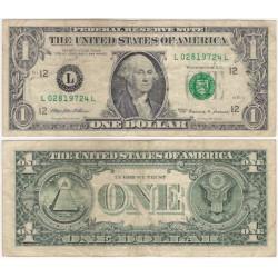 (504) Estados Unidos de América. 1999. 1 Dollar (MBC-)