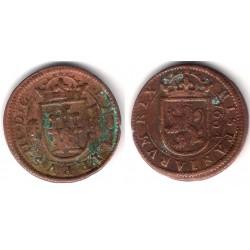 Felipe III. 1604. 8 Maravedi (BC+) Ceca de Segovia