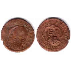Felipe III. 1600. 8 Maravedi (BC) Sin Ceca Visible