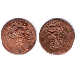 Felipe III. Sin Fecha. 8 Maravedi (BC) Ceca de Segovia
