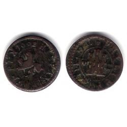 Felipe III. 1602. 2 Maravedi (BC+) Ceca de Segovia