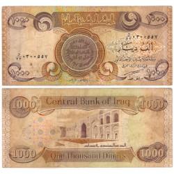 (93a) Iraq. 2003. 1000 Dinars (MBC-)