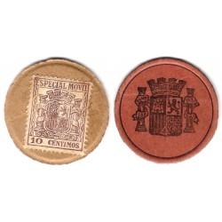 España (II República). 1937. 10 Céntimos (MBC+)