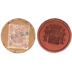 España (II República). 1937. 20 Céntimos (MBC)