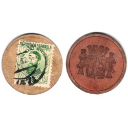 España (II República). 1937. 10 Céntimos (BC)
