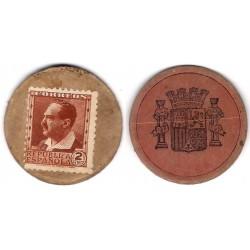 España (II República). 1937. 2 Centavos (BC+)