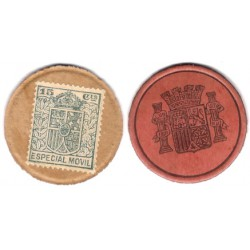 España (II República). 1937. 15 Céntimos (MBC+)