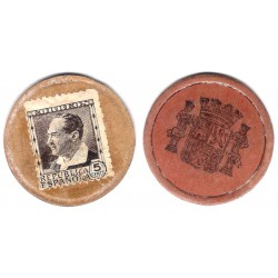España (II República). 1937. 5 Céntimos (BC)