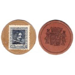 España (II República). 1937. 50 Céntimos (MBC+)