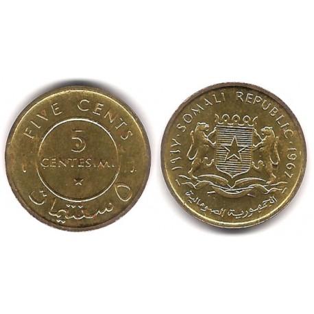 (6) Somalia. 1967. 5 Centesimi (EBC)