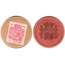 España (II República). 1937. 15 Céntimos (MBC)