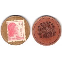 España (II República). 1937. 45 Céntimos (MBC)