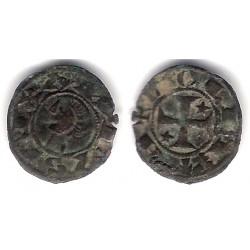 Alfonso I de Aragón. 1106-1113. Dinero (BC+) Ceca de Toledo