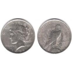 (150) Estados Unidos de América. 1922. 1 Dollar (MBC) (Plata)