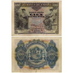 España. 1906. 100 Pesetas (MBC-) Sin Serie