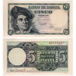 Estado Español. 1948. 5 Pesetas (SC) Sin Serie