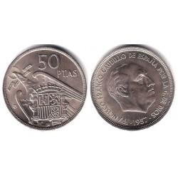 Estado Español. 1957*(60). 50 Pesetas (EBC)