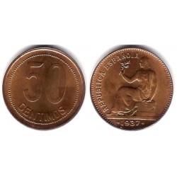 España (II República). 1937*(--6). 50 Céntimos (EBC+)