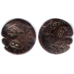 Felipe III. 1613. 8 Maravedi (BC/BC+) Resellos de Felipe IV