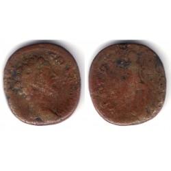 Marco Aurelio. 161-180 d.C. As (BC)