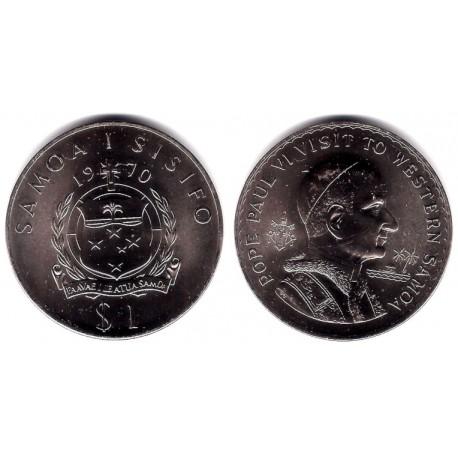 (10) Samoa i Sisifo. 1970. 1 Tala (SC)
