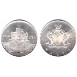 (25) Malta. 1974. 4 Pounds (SC) (Plata)
