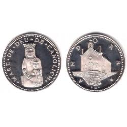 Medalla Andorra. Mare de Deu de Canolich (SC) (Plata)