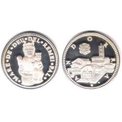 Medalla Andorra. Mare de Deu del Remei Pal (SC) (Plata)