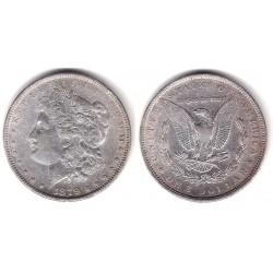(110) Estados Unidos de América. 1879. 1 Dollar (EBC) (Plata)