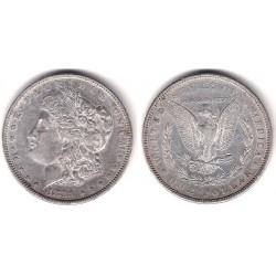 (110) Estados Unidos de América. 1883. 1 Dollar (EBC-) (Plata)