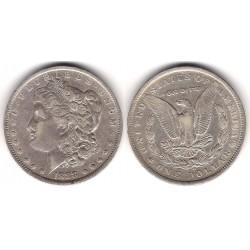 (110) Estados Unidos de América. 1888. 1 Dollar (MBC) (Plata)