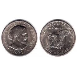 (207) Estados Unidos de América. 1979(D). 1 Dollar (EBC+)