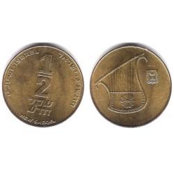 (159) Israel. 1993. ½ New Sheqel (EBC+)