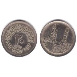 (733) Egipto. 1992. 20 Piastres (BC)