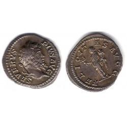 Septimio Severo. 193-211d.C. Denario (EBC) (Plata)