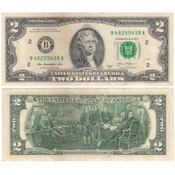 (538) Estados Unidos de América. 2013. 2 Dollars (EBC+)