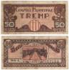 Tremp. 1937. 50 Céntimos (BC) Serie A