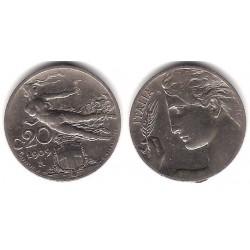 (44) Italia. 1909. 20 Centesimi (MBC)