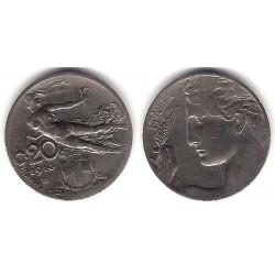 (44) Italia. 1914. 20 Centesimi (MBC)
