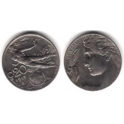 (44) Italia. 1913. 20 Centesimi (EBC)