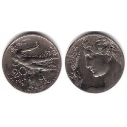 (44) Italia. 1911. 20 Centesimi (EBC-)