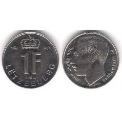 (63) Luxemburgo. 1990. 1 Franc (EBC)