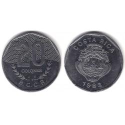 (216.1) Costa Rica. 1983. 20 Colones (MBC)
