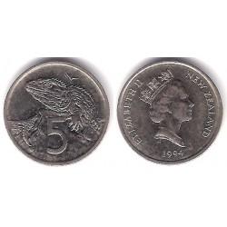 (60) Nueva Zelanda. 1994. 5 Cents (MBC+)