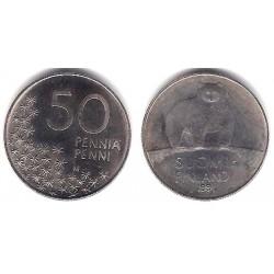 (66) Finlandia. 1991. 50 Penniä (MBC+)