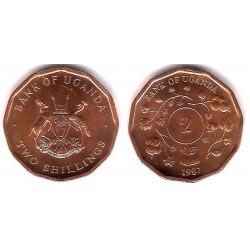 (28) Uganda. 1987. 2 Cents (SC)