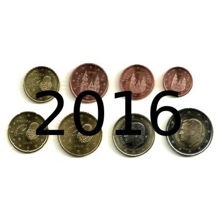España 2016 Serie Completa (8 Valores) (SC)
